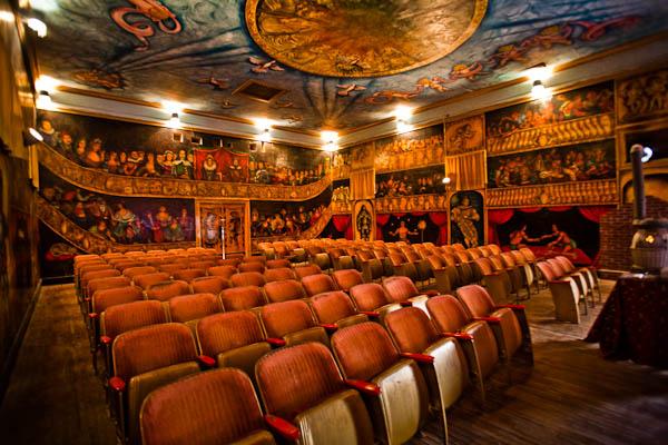 inside Amargosa opera house