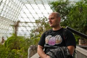 Biosphere 2 inside rain forest