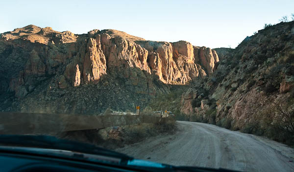 Apache Trail historic route 88