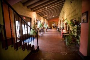 La Posada Hotel hallway photograph