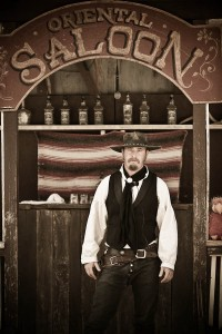 Six Gun Saloon Gunfighter