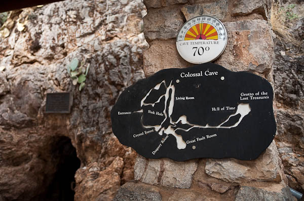 Summer inside the Colossal cave