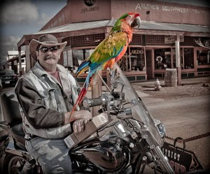 Tombstone Biker Bird and Birdman