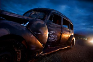 Tombstone Boot Hill Hearse