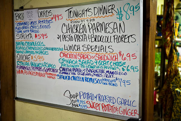 bisbee high desert market menu