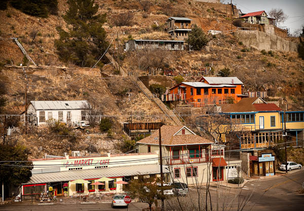 bisbee mountain side homes