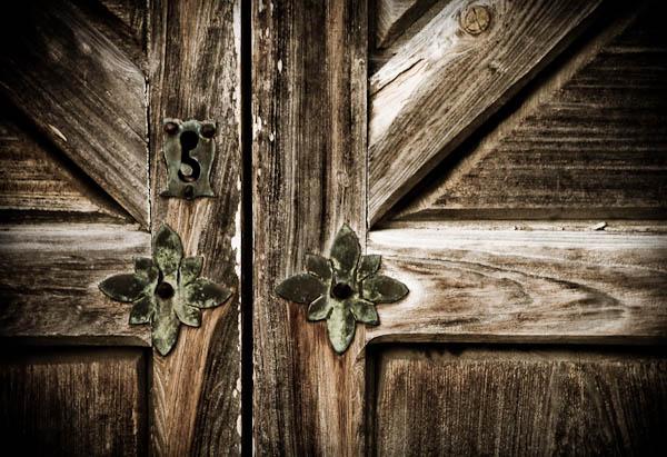 Presidio La Bahia door too
