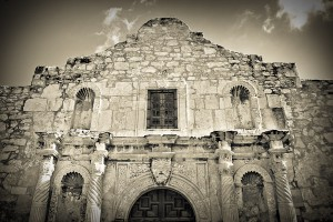 the chapel at the Alamo