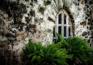 Window in stone