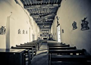 Inside Mission San Juan