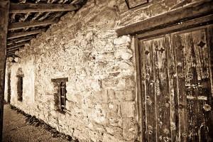 doorway wall window at San Juan Mission