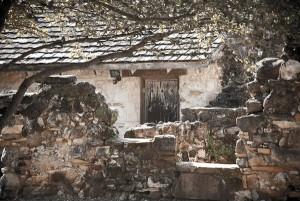 historic mission walls