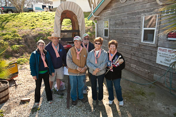 Darlene's Seabreeze RV Park Olympics Team