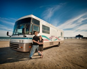 Day 79 – Taking the RV to the Beach
