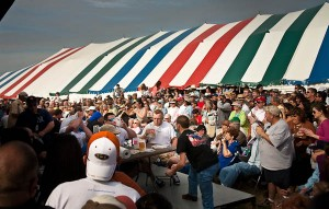 Oysterfest oyster eating contest