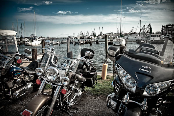 bikes and boats