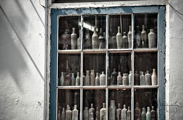 window in French Quarter