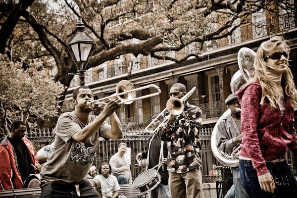 jazz bank Jackson Square