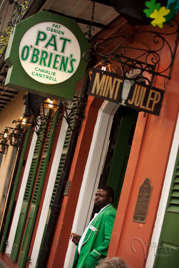 Pat O'Briens, home of the original Hurricane drink