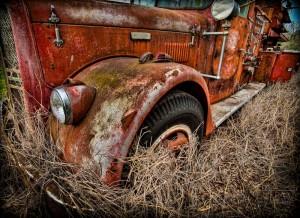 1956 ward lefrance pumper fire truck