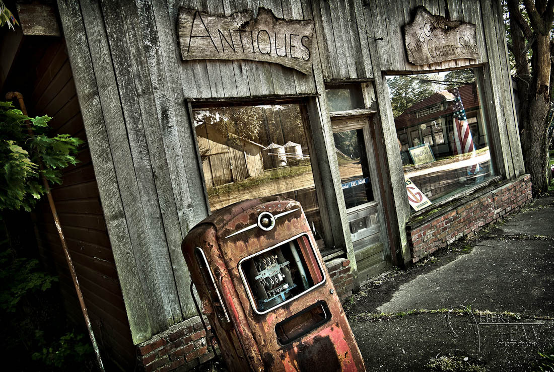 Funks Grove antique store in Funks Grove on Route 66 in Illinois