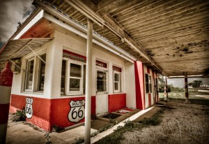 Dawg House diner in Dwight illinois on Route 66